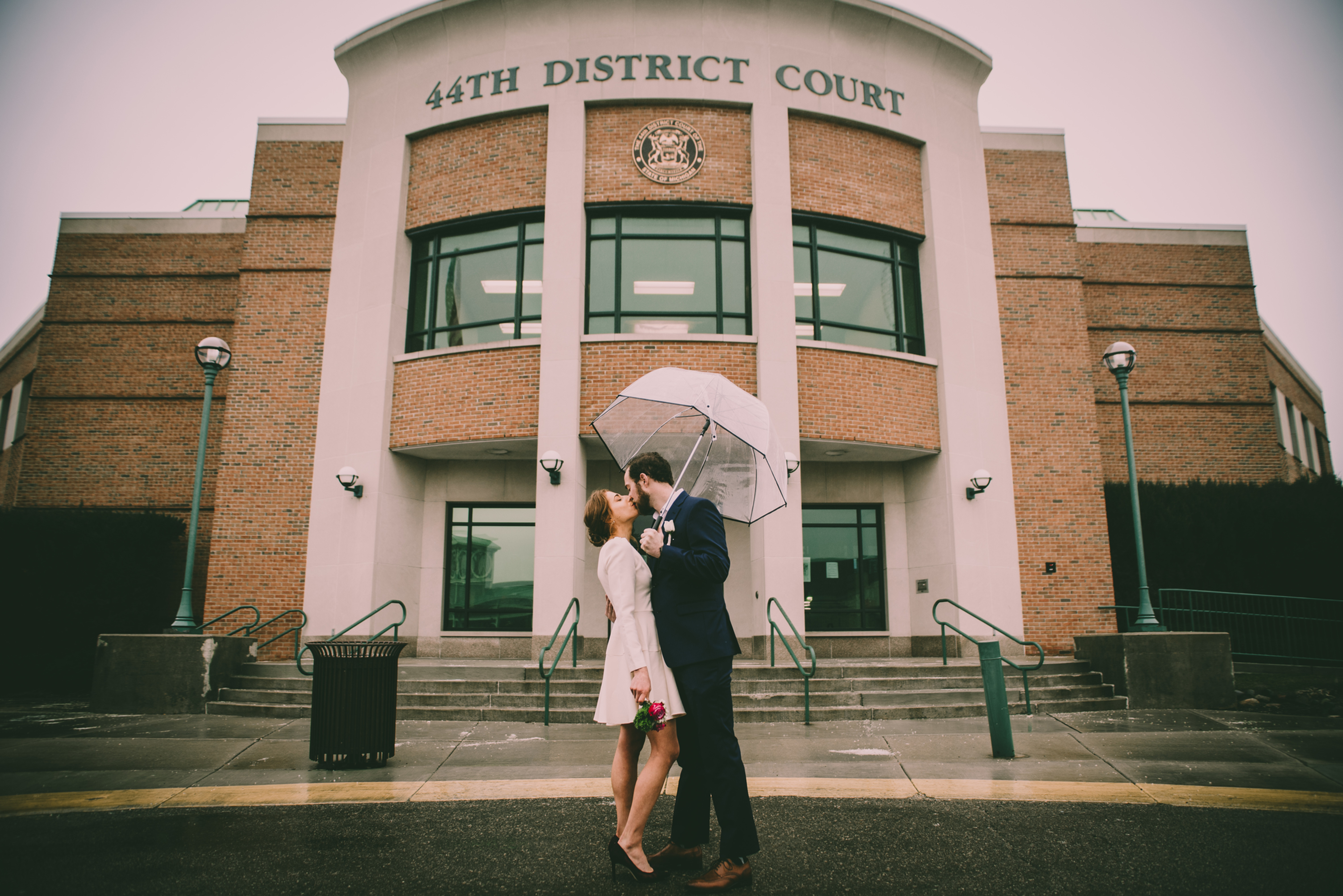 Courthouse/ Small Wedding Photography