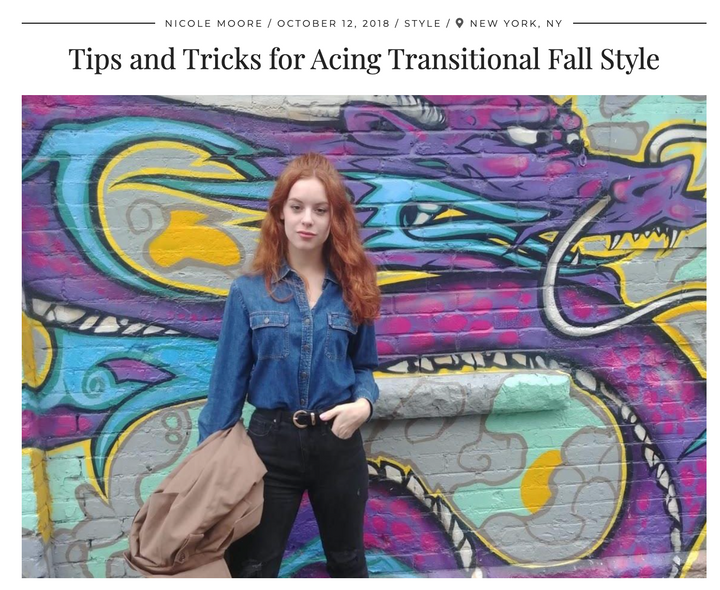 Tips and Tricks for Acing Transitional Fall Style