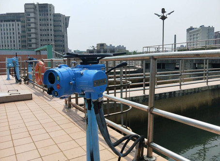 淨水廠-多回轉電動操作機Water purification plant - multi-turn