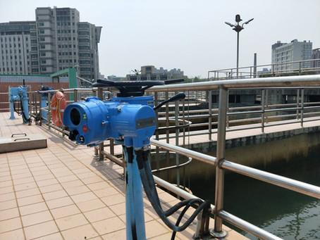 淨水廠-多回轉電動操作機Water purification plant - multi-turn