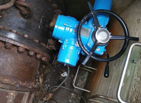 淨水廠-多回轉電動操作機 Water purification plant - multi-turn