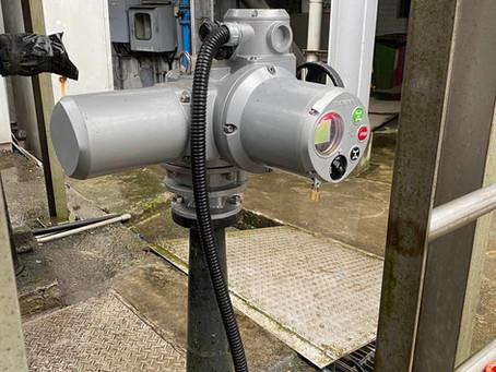 污水處理廠-電動操作機