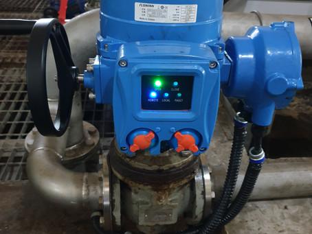 污水廠-電動驅動器 & 電動操作機