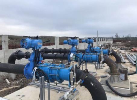 海水淡化-多回轉電動操作機Seawater desalination - multi-turn