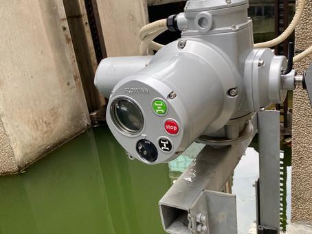 制水閘門-多迴轉電動操作機