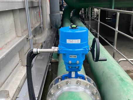 電動驅動器-化學纖維廠冷卻水系統