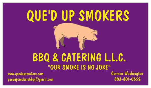 Que'D Up Smokers from Winnsboro