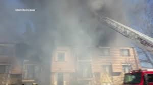 Fire at Janice's apartment