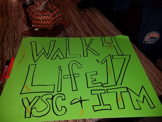 ITM table at Walk for Life 2017 was a success