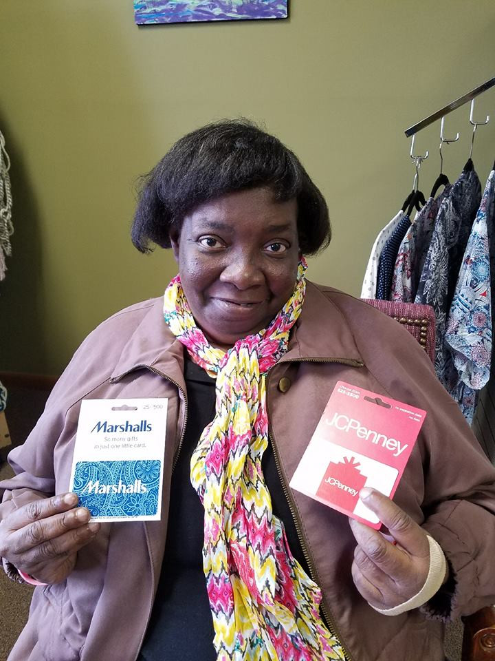 Gift cards to help Janice get back on her feet