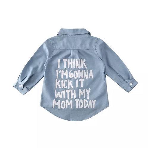Denim inspired shirt