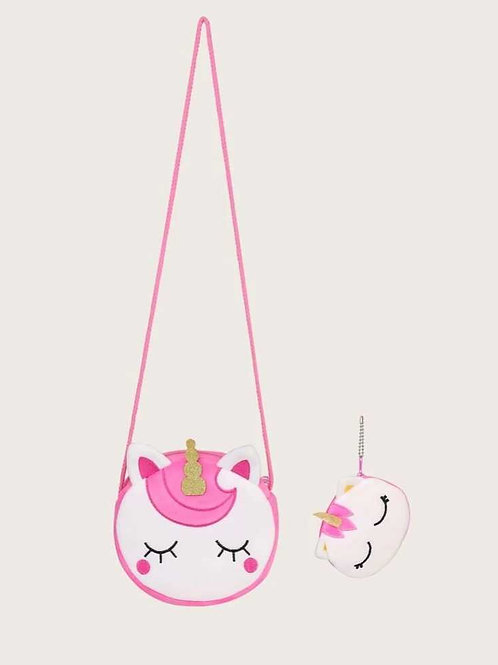 Unicorn purse and wallet