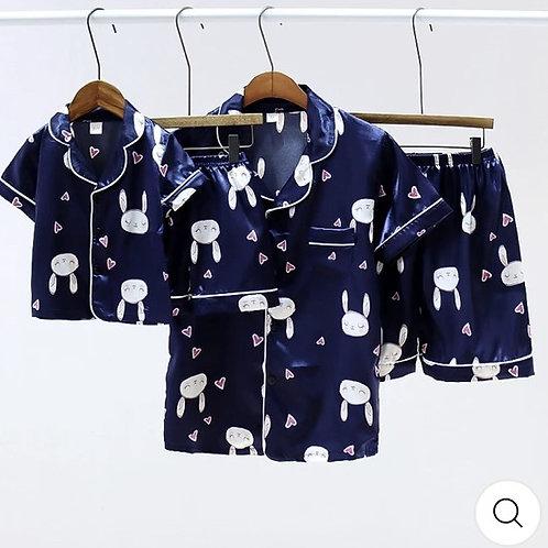 Satin 2 piece pajama set *Baby girl*
