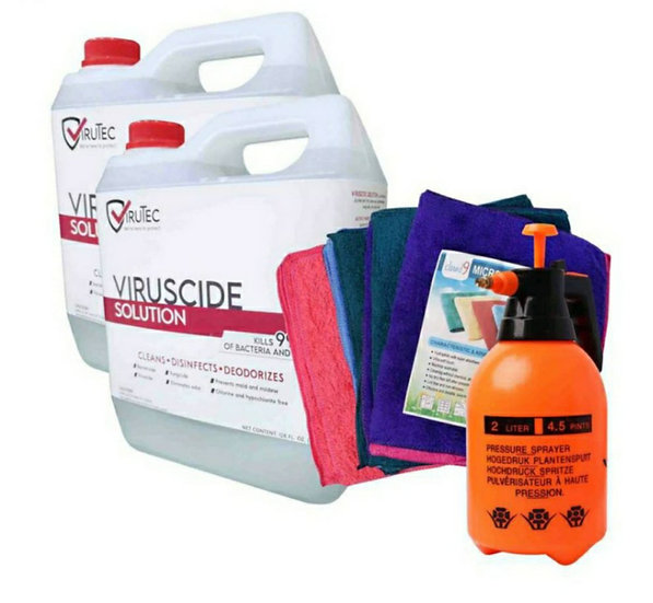 Essential Disinfectant Cleaning Set