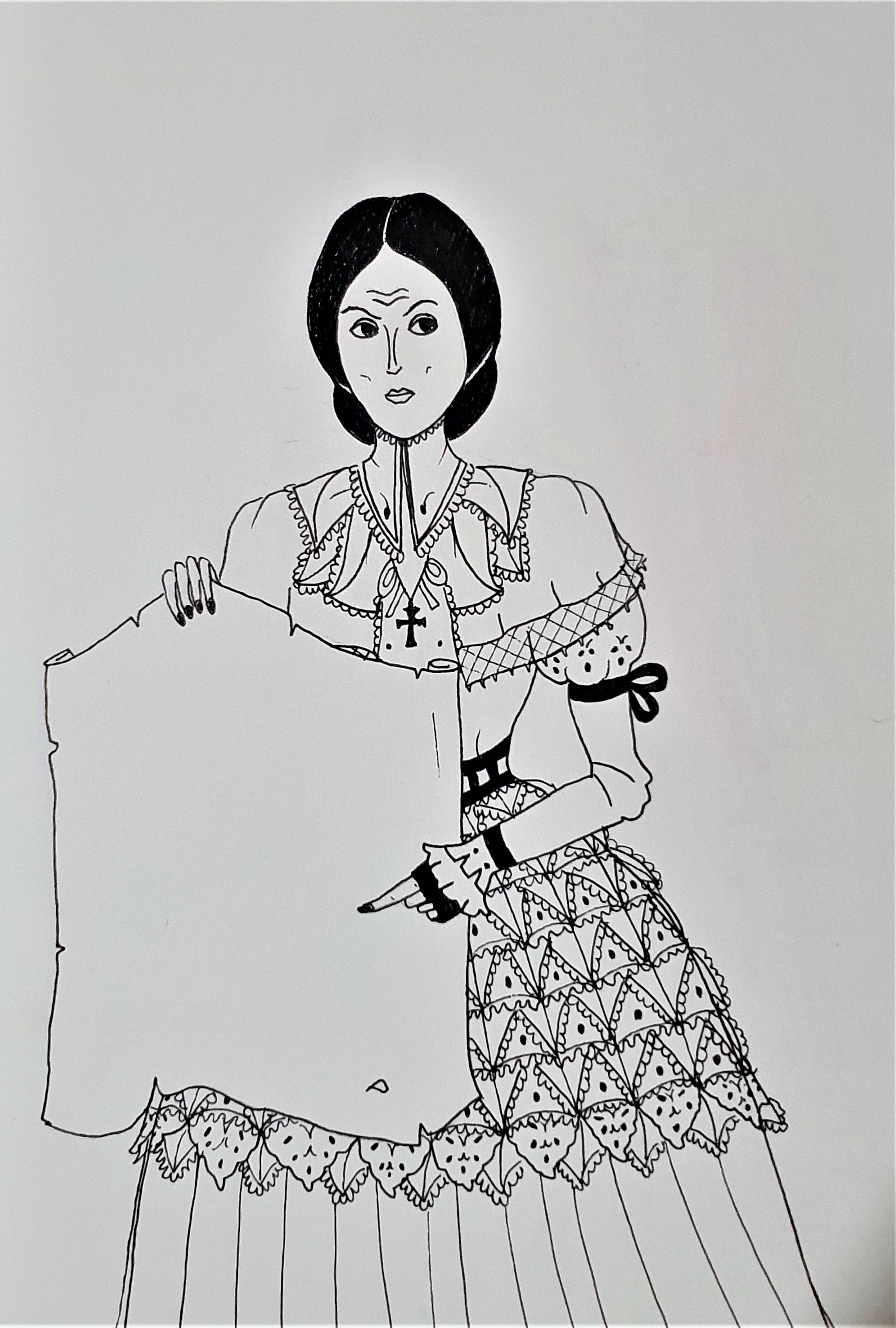 """Morgaine - Ilustração para publicação do livro """"Procura-se""""de Rafael Mallagutti"""