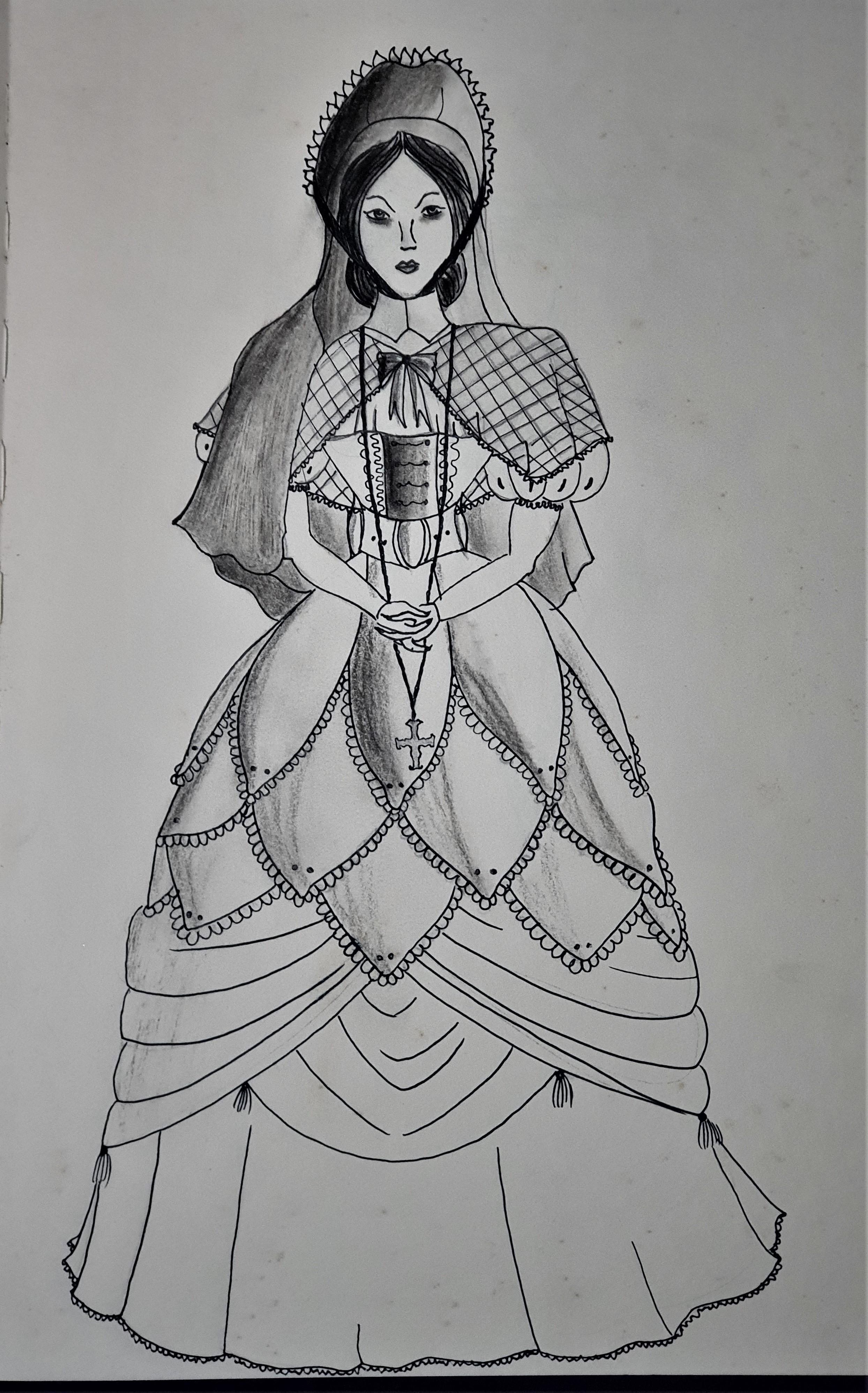 """Morgaine -Ilustração para publicação do livro """"Procura-se""""de Rafael Mallagutti"""