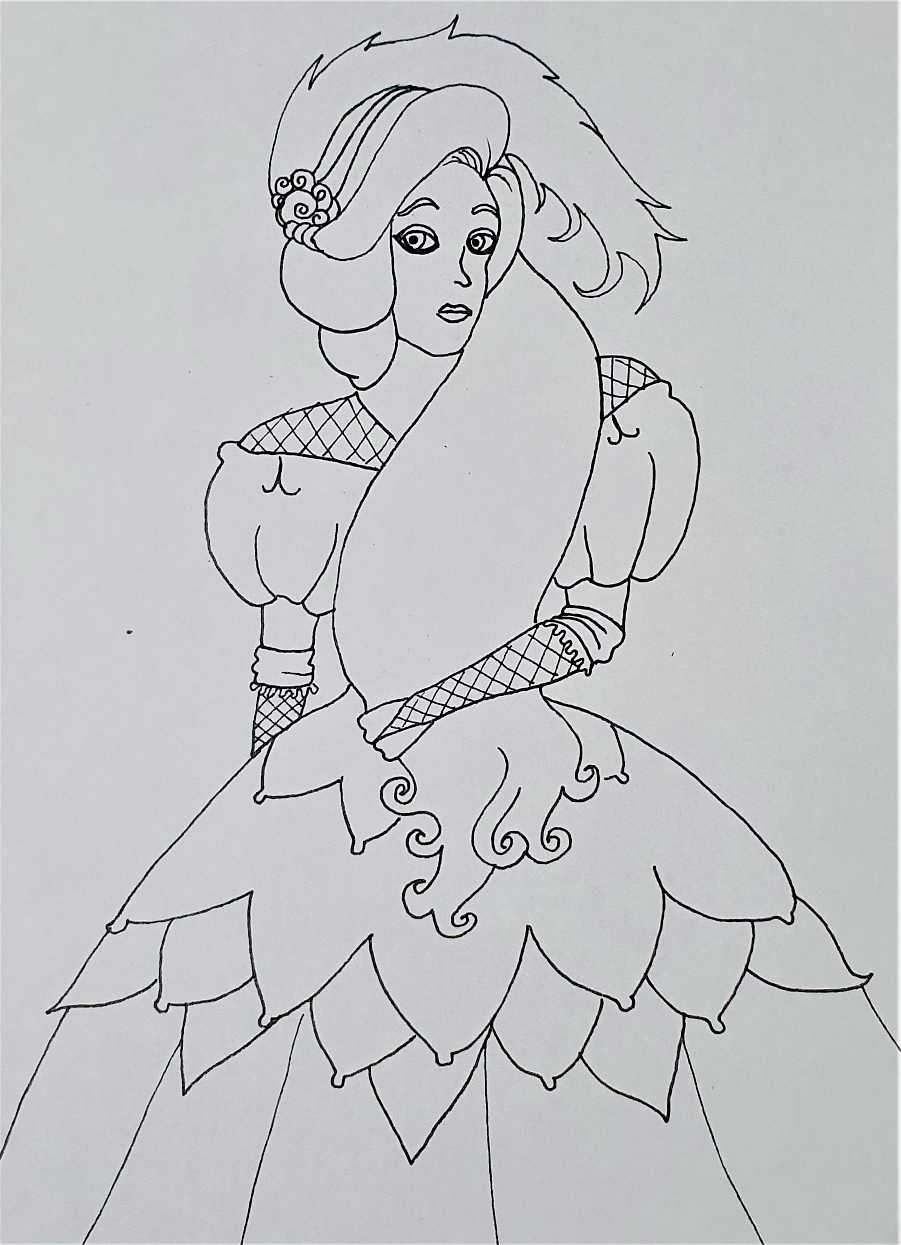 """Mary Jane -Ilustração para publicação do livro """"Procura-se""""de Rafael Mallagutti"""