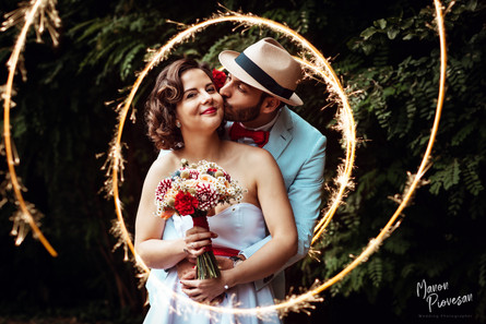 Reportage Mariage Pin Up avec Louise & Etienne