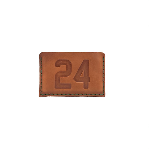 #24 HOF Player Leather Wallet
