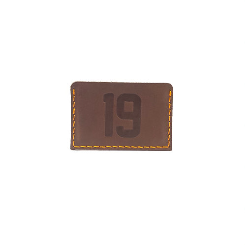 #19 HOF Player Leather Wallet