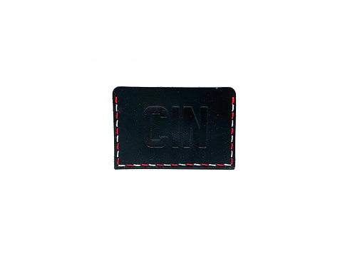"Cincinnati ""CIN""   Leather Slide-In Wallet"