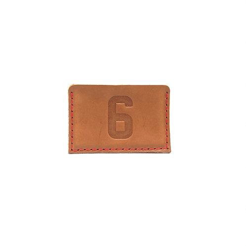 #6 HOF Player Leather Wallet