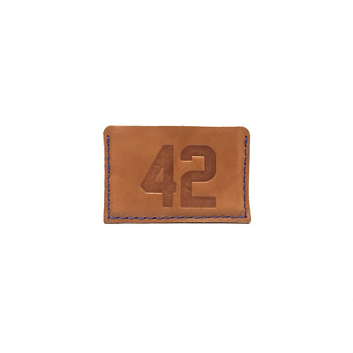 #42 HOF Player Leather Wallet