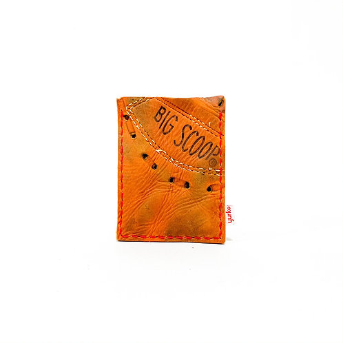 Baseball Glove Leather Money Clip Wallet