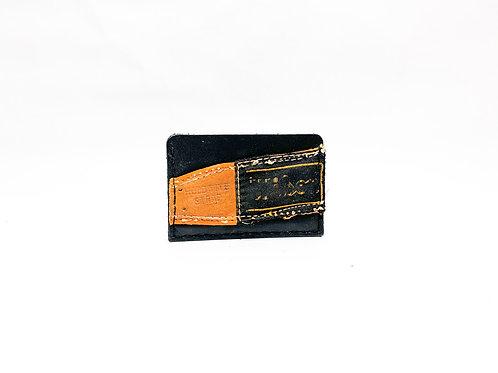 Slide-In Cash Strap Baseball Glove Wallet