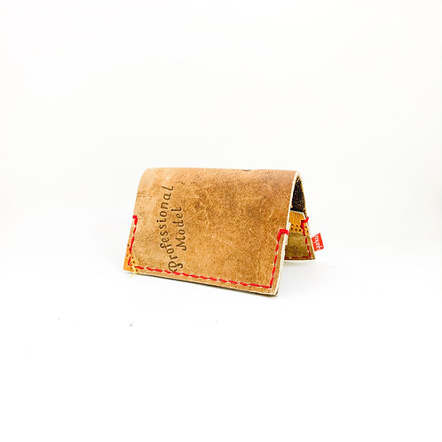 Baseball Glove Leather Fold Over Wallet