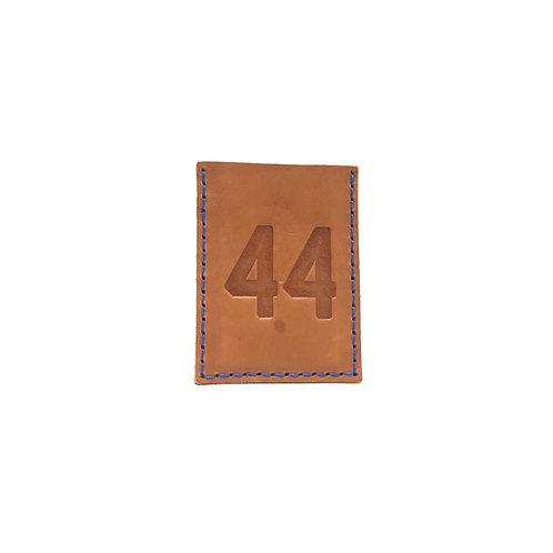 #44 HOF Player Leather Wallet