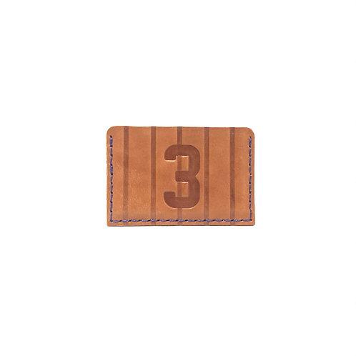 #3 HOF Player Pinstripe Leather Wallet