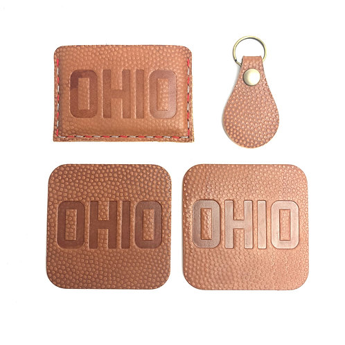 Ohio Block Slide-In Wallet Set