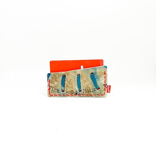 Baseball Glove Leather Minimalist Wallet