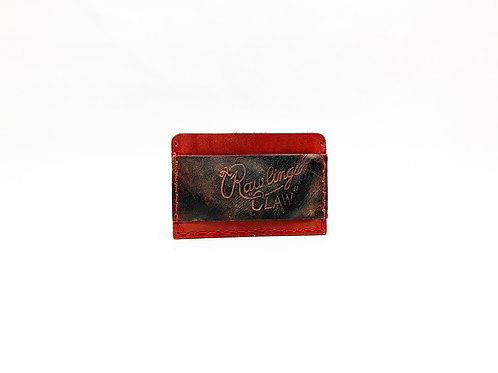 Slide-In Cash Strap Baseball Glove Wallet