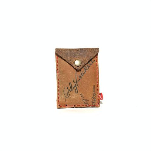 Kirby Puckett Baseball Glove Leather Snap Wallet