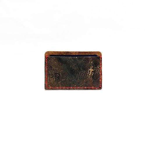 Baseball Glove Leather Slide-In Money Clip Wallet