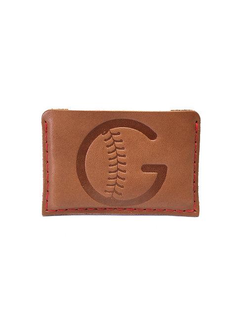 Grady's Pitching School Leather Slide-In Wallet