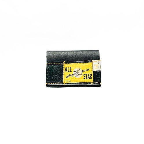 Fold Over Baseball Glove Wallet w/ Cash Strap