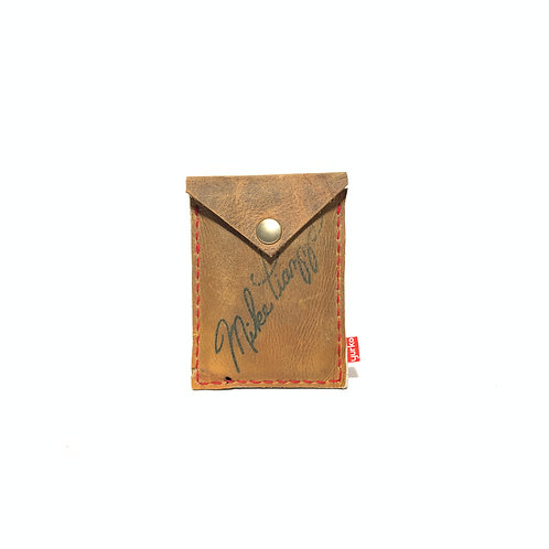 Mike Piazza Baseball Glove Leather Snap Wallet