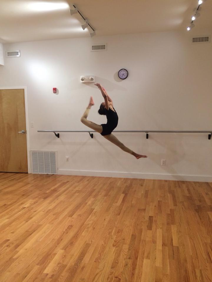 Brianne In the air
