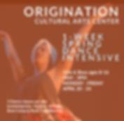 Spring Dance Intensive 2020  Instagram (