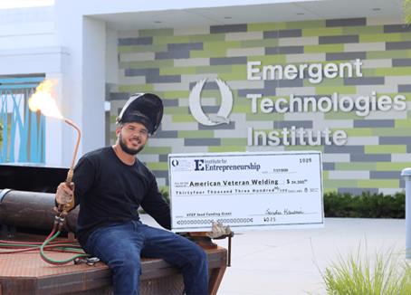 FGCU VETERAN'S FLORIDA ENTREPRENEURSHIP PROGRAM AWARDS $34,500 TO AMERICAN VETERAN WELDING