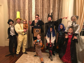 Staff & their families celebrate Halloween