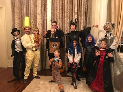 Staff & their families celebrate Halloween