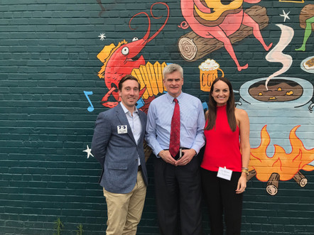 Walts & Hightower are members of the Lafayette Young Professionals