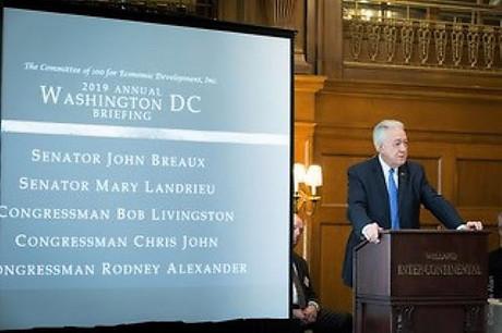 Congressman Alexander speaks in Washington, D.C.
