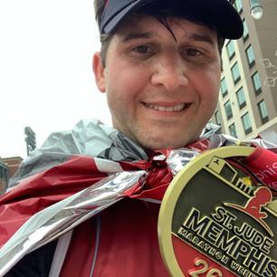 Cahanin finishes St. Jude Marathon