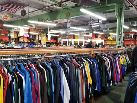 The Press: Thrifting in BK