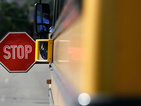 WSHU: Suffolk County To Consider Cameras On School Bus Stop Signs